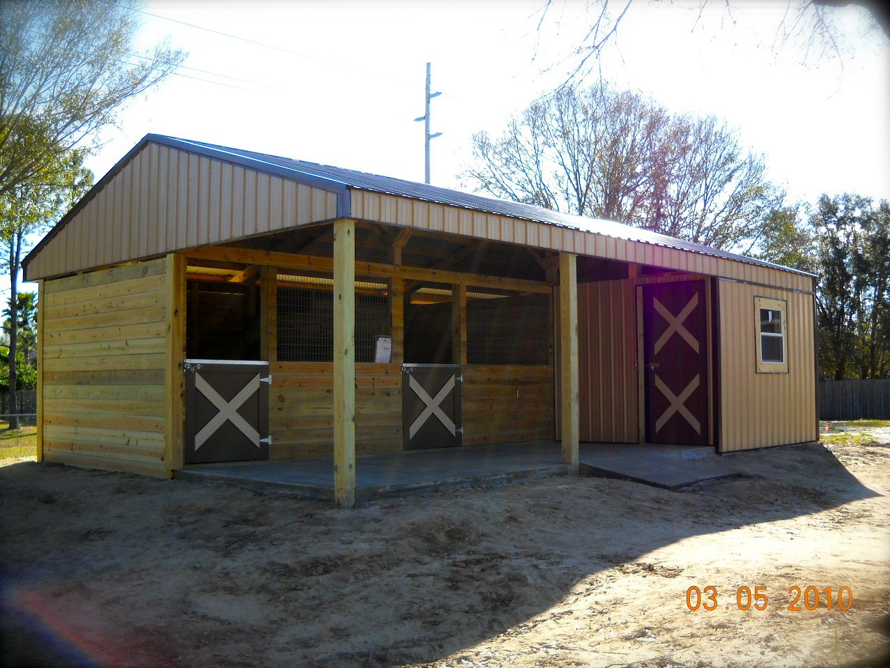 Metal Horse Barn Homes Designs House Design And